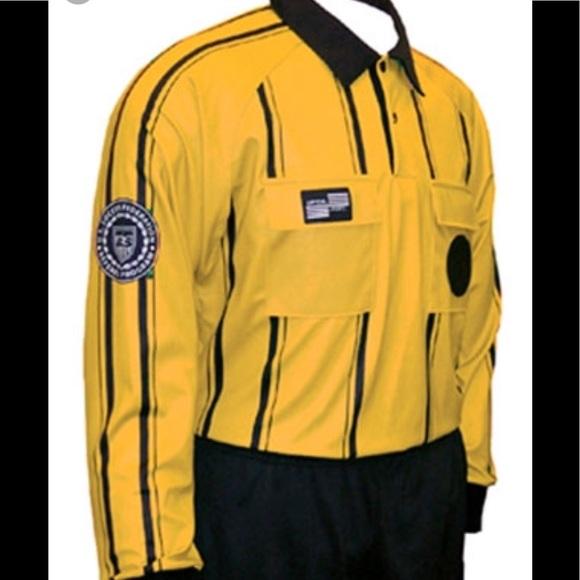 official sports international Other - Men's long sleeve referee shirt